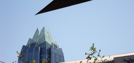 Frost Bank Tower from Austin City Hall