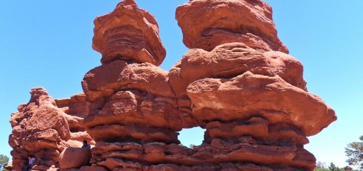 Garden of the Gods Keyhole Rock