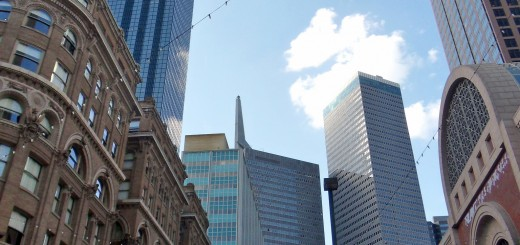 Dallas buildings old and new