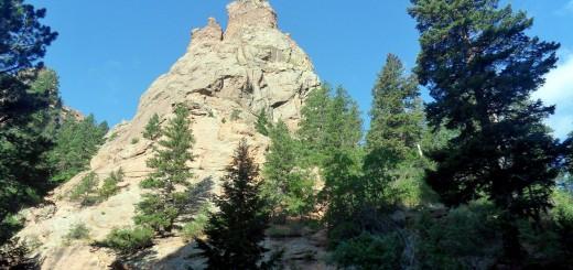 Rocky Crag near Mount Cutler
