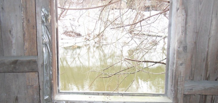 Winooski Through Window