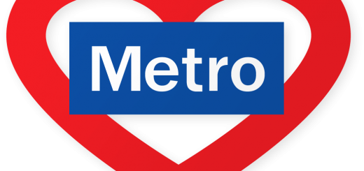 Madrid Metro Heart
