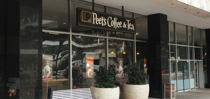 Peet's Coffee and Tea in Downtown Dallas