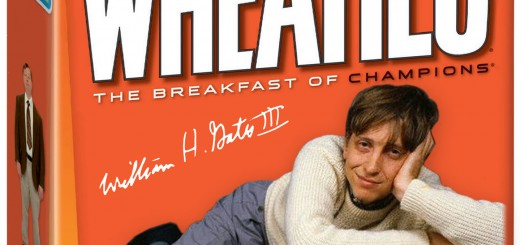 Start Early with a Bill Gates Centerfold on a Wheaties Box