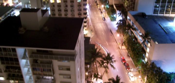 Waikiki just before dawn 2