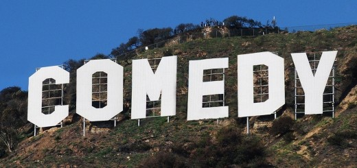 Comedy Hollywood Sign