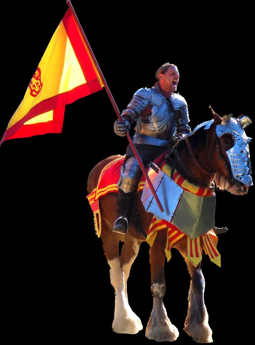 Medieval Knight On Horse Knights on horses gargoyles