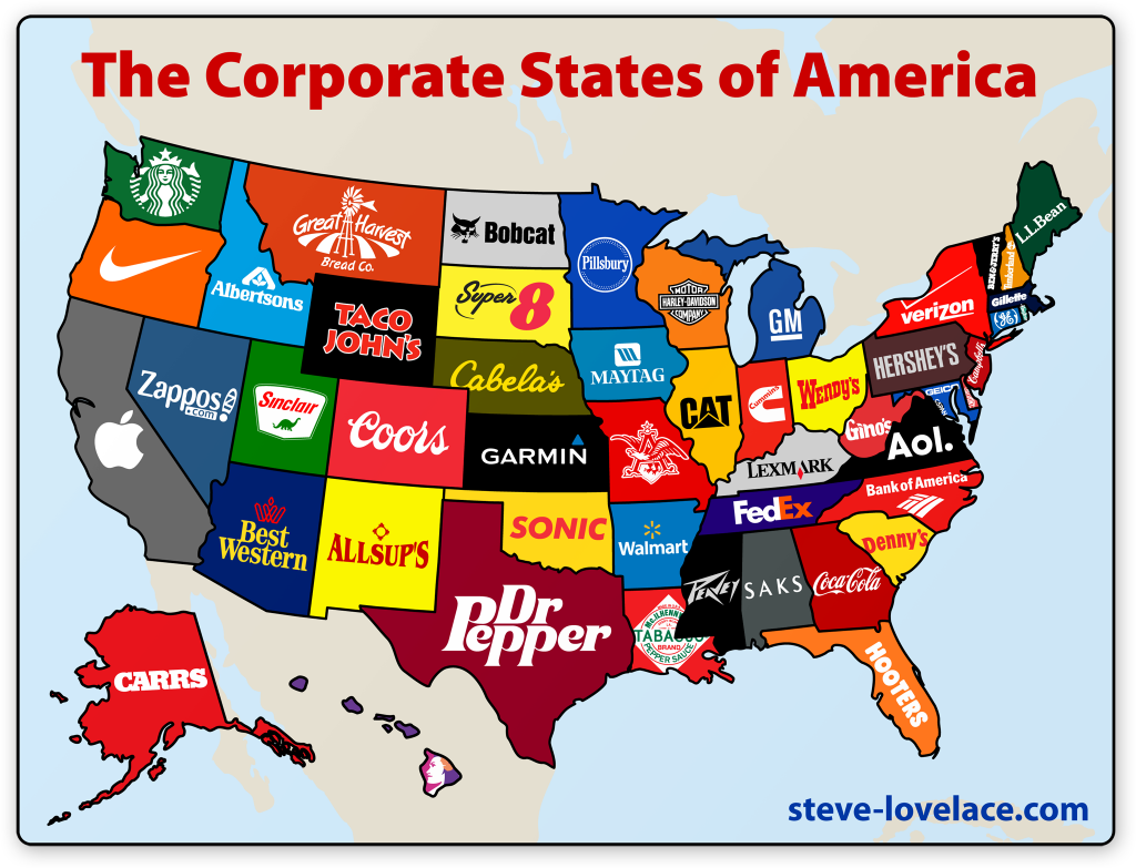 American Map Corporation The Corporate States of America — Steve Lovelace American Map Corporation