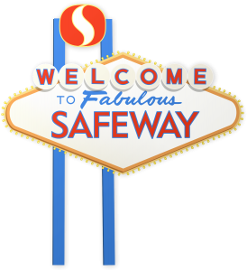 Las Vegas Safeway sign