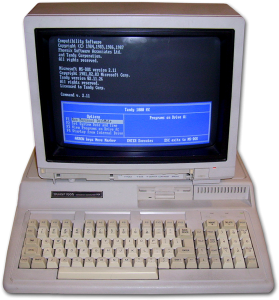Tandy 1000HX Computer