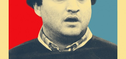 John Belushi College Obama Poster