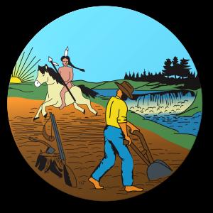 Current Seal of Minnesota, Closeup