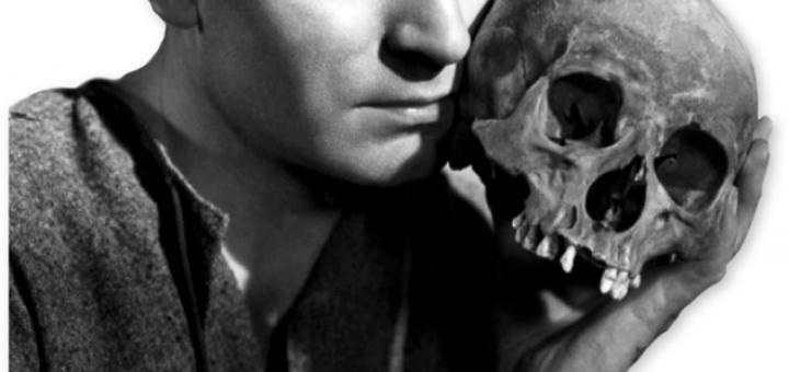 Lawrence Olivier Hamlet Skull