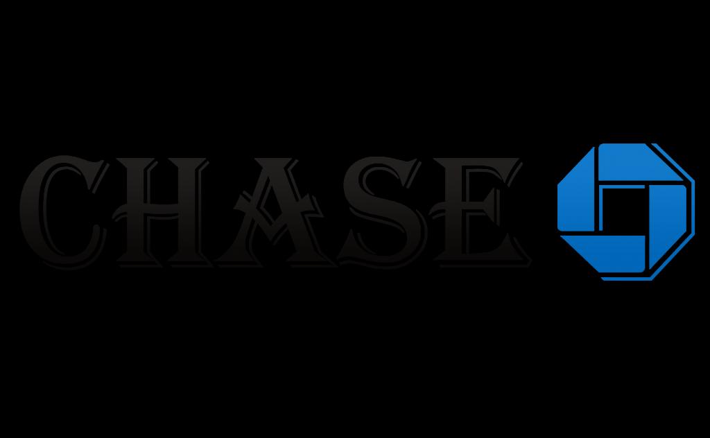 Chase Logo in Algerian Font