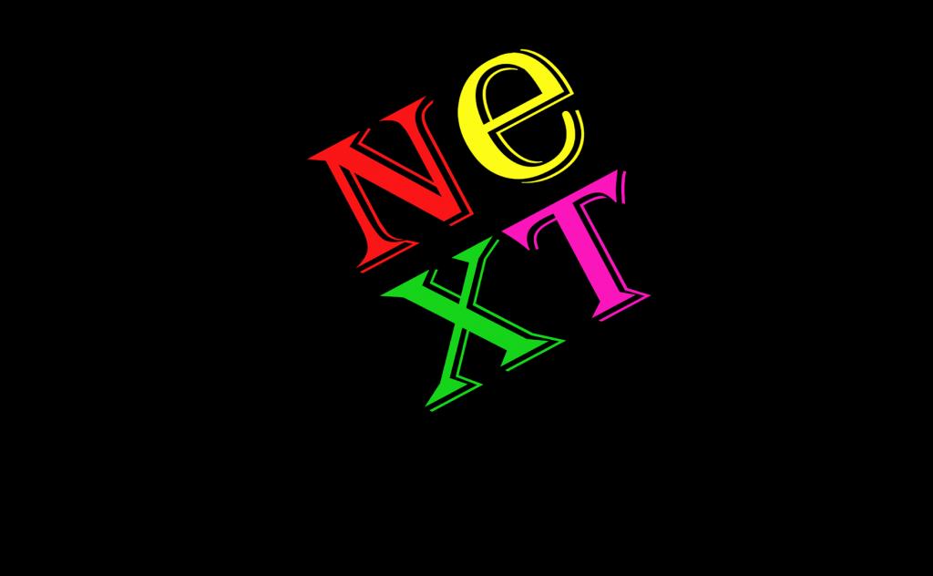 NeXT Logo in Algerian Font