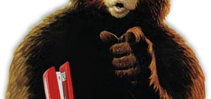 "Smokey the Bear in ""Office Space"""