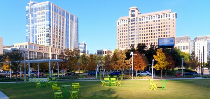 A Sunny Day in Klyde Warren Park