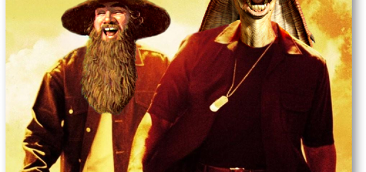 "Tom Bombadil and Jar Jar Binks in ""Bad Boys 8"""