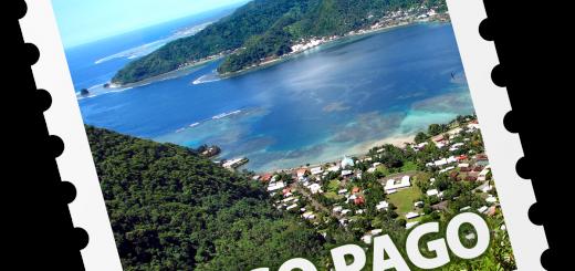 Pago Pago Postage Stamp