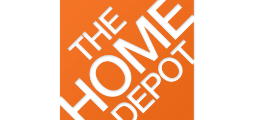 The Home Depot logo in Helvetica