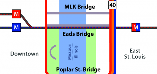 Poplar Street Bridge Diagram