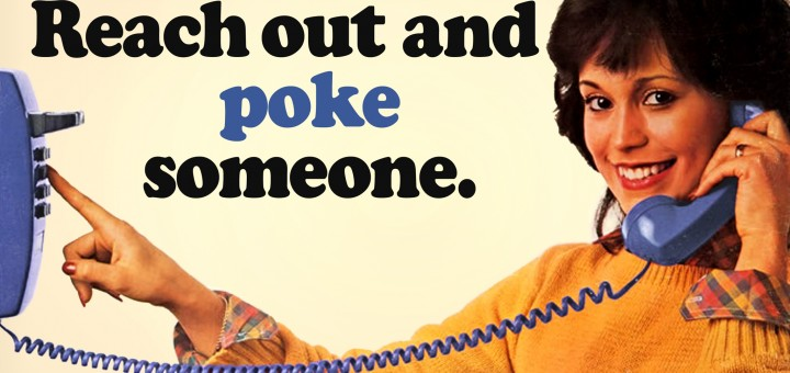 Facebook Phone - Reach Out and Poke Someone