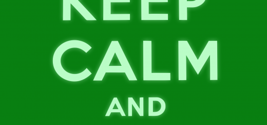 Keep Calm and Exit Right sign