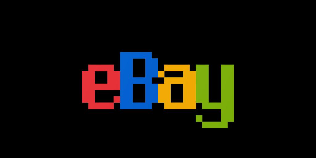 eBay Logo in Chicago Font