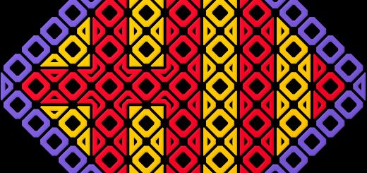 Barcelona Logo in Eixample Blocks