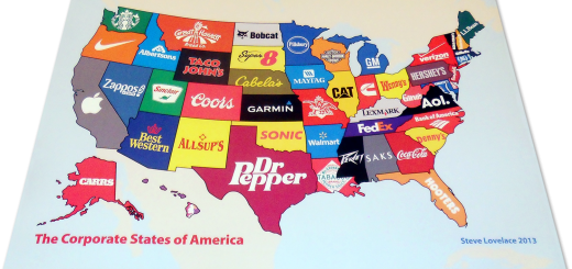Corporate States of America Poster