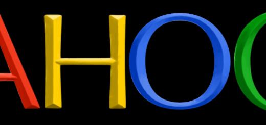 New Yahoo Logo in Google Colors