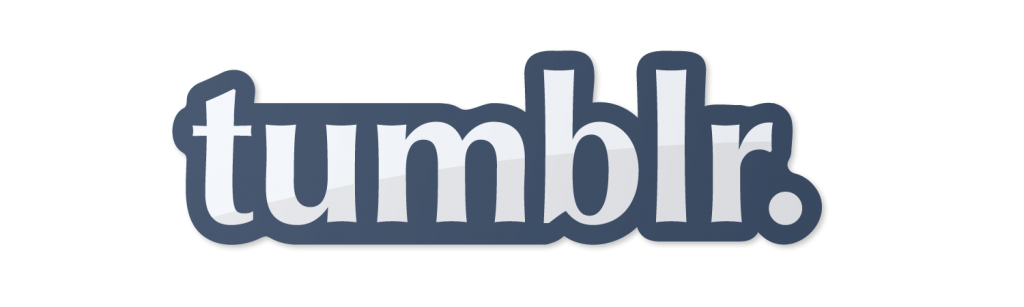 Tumblr Logo in Optima Font