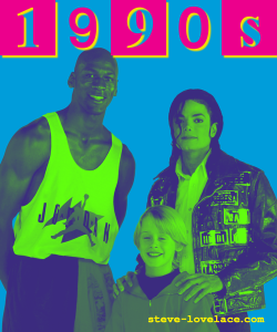 1990s Magazine Cover