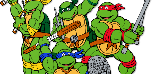 Teenage Mutant Ninja Turtles in Hogwarts Colors