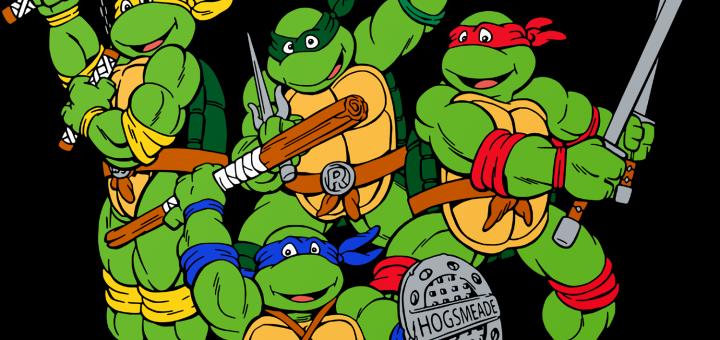 Teenage Mutant Ninja Turtles in Hogwarts Colors