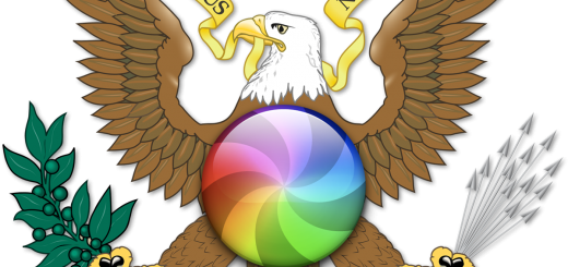 US Eagle with Beachball of Doom