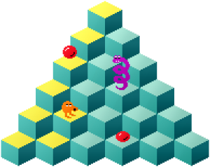 QBert Pyramid
