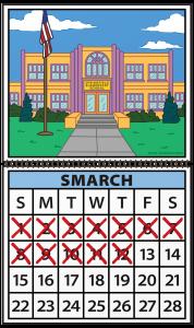 Smarch Calendar