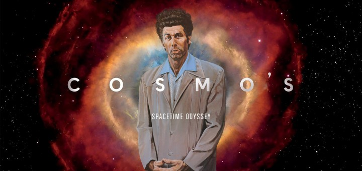 Cosmos Title Card with Cosmo Kramer
