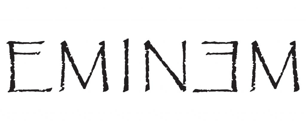 Eminem logo in Papyrus