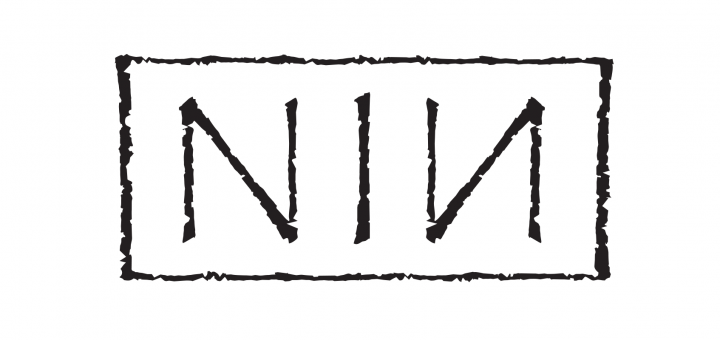 Nine Inch Nails logo in Papyrus