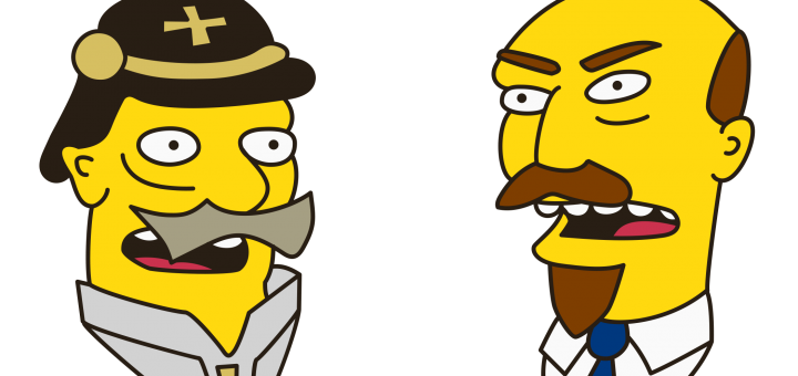 Simpsons Kaiser vs Lenin