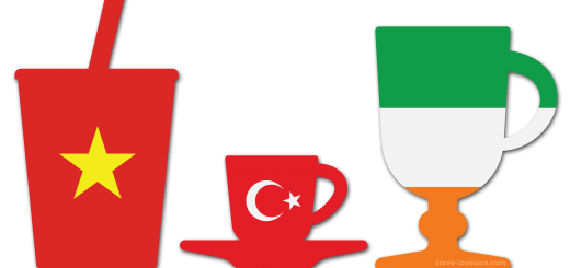 Vietnamese, Turkish and Irish Coffee