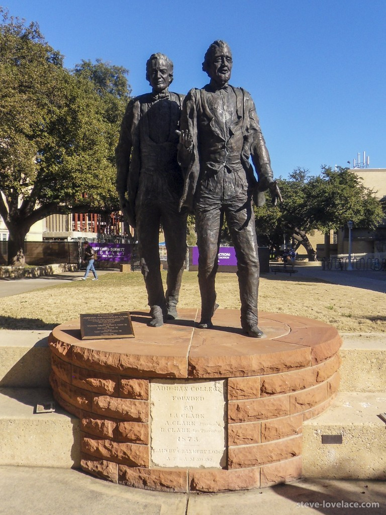 TCU Founders Statue