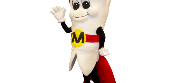 Mighty Molar Man Cutout