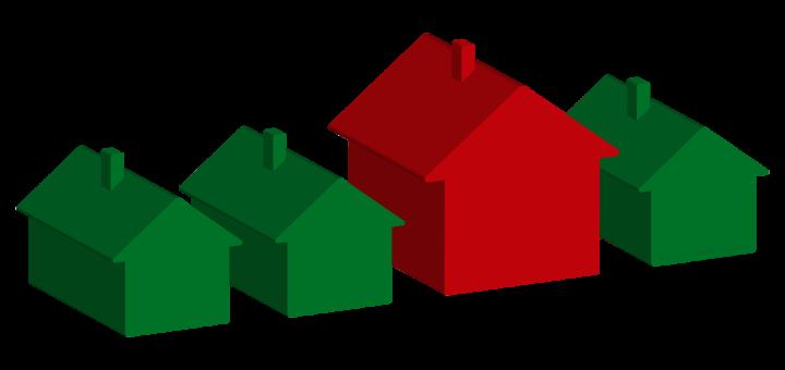 Monopoly Houses with Teardown