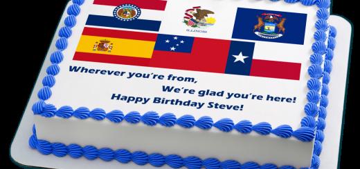 Steve Lovelace Birthday Cake