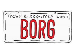 Borg License Plate