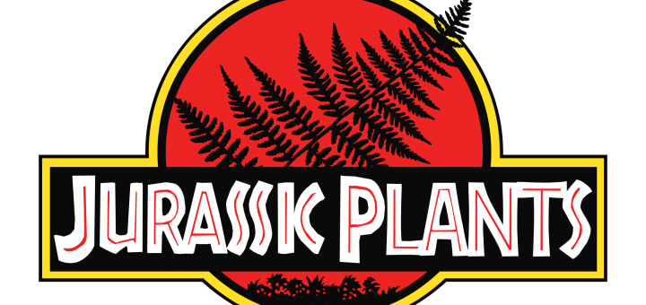 Jurassic Park Logo with Fern