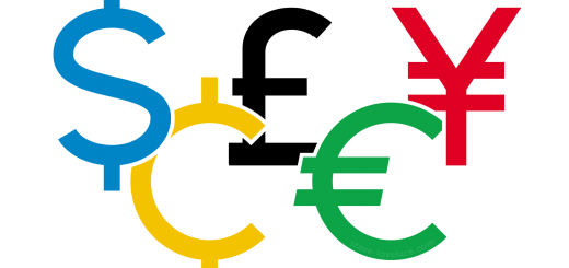 Olympic Currency Signs